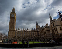 House of Parliament and Big Ben Stock Photography