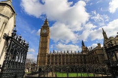House of Parliament and the Big Ben Royalty Free Stock Photos