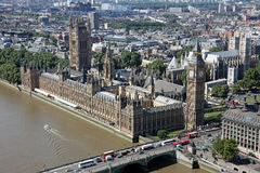 House of Parliament with Big Ben tower Royalty Free Stock Photo
