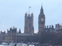 House of parliament and the Big Ben stock photo