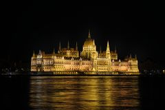 House of Parliament - Budapest, Hungary Royalty Free Stock Photos
