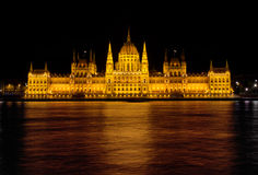 House of Parliament in Budapest Stock Images