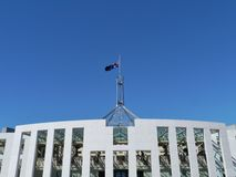 The house of parliament in Canberra Stock Image