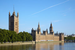 House of parliament in London Royalty Free Stock Photos