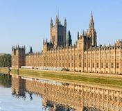 House of Parliament in London. House of Parliament, London, Great Britain Royalty Free Stock Photo