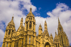 House of Parliament. In London, England Royalty Free Stock Image