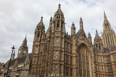 House of Parliament in London, UK Royalty Free Stock Photos