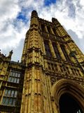 House of parliament. This is a new perspective of the celebrated house of parliament in london, UK. The british common sense of construction and istitutional Royalty Free Stock Photos