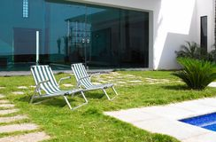 House patio Royalty Free Stock Photo