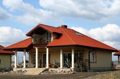 House with patio Stock Photos