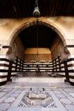 House patio in Aleppo Stock Photo