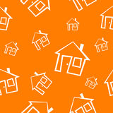 House pattern Royalty Free Stock Photography