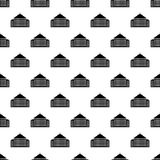 House pattern seamless Stock Images