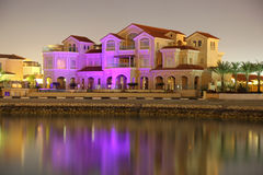 House at The Pearl, Doha Royalty Free Stock Images