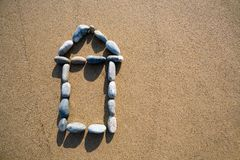 House from a pebble Stock Image