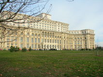 House of people Bucharest. Romania royalty free stock photos