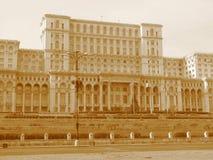 House of people Bucharest Stock Photo