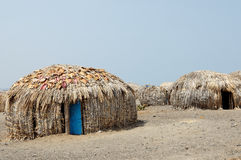 House of people from the El Molo tribe Stock Photo