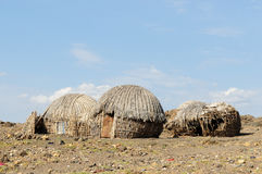 House of people from the Turkana tribe Royalty Free Stock Photo