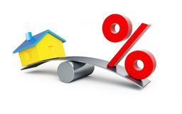 House or percent Stock Photos