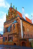 The House of Perkunas or Thunder built in 15th century in Kaunas Royalty Free Stock Image