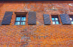 The House of Perkunas or Thunder built in 15th century in Kaunas Stock Photography