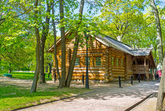The House of Peter the Great in Kolomenskoye Royalty Free Stock Photography