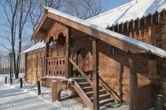 House of Peter I in Kolomenskoe Royalty Free Stock Photo