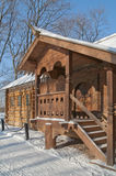 House of Peter I in Kolomenskoe Stock Photo
