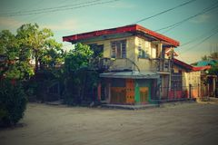 House in the Philippines Royalty Free Stock Image