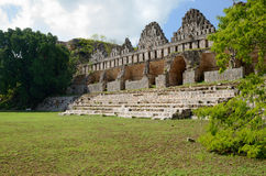 House of the Pigeons in the Maya city of Uxmal, Yucatan. Mexico Royalty Free Stock Photos