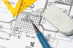 House plan Stock Photo