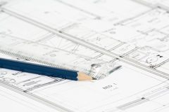 House Plan Royalty Free Stock Image