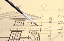 House plan Stock Images