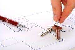 House plan. Royalty Free Stock Photo