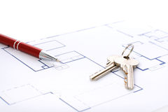 House plan. Stock Image