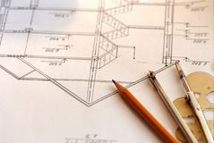 House plan Stock Photos