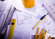 House plan Stock Photos