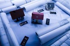 House plan Royalty Free Stock Photo