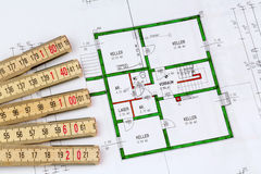 A house plan Stock Image