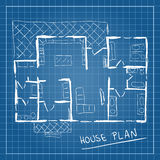 House plan blueprint doodle Stock Images