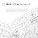 House plan drawing Stock Images
