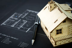 House plan Royalty Free Stock Images