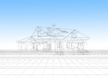 House plan model Royalty Free Stock Photo