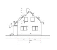 House plan Royalty Free Stock Photos