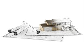 House plan Stock Image