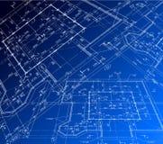 House plan. Vector blueprint Stock Photo