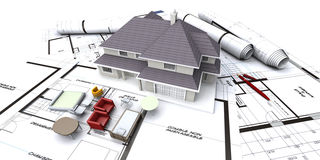 House planning Royalty Free Stock Image