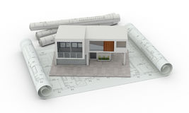 House planning Royalty Free Stock Photography