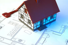 House plans Stock Photos